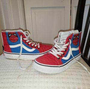 Van's Boys Spiderman Sneakers
